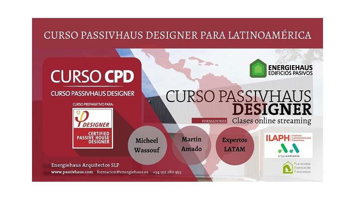 "Cursos Passivhaus Designer, modulo extra ""PLUS LATAM"" del 15 de julio al 07 de octubre del 2021"